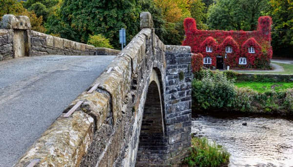Lady Mary's Walk binaural audio trail in Llanrwst, Wales