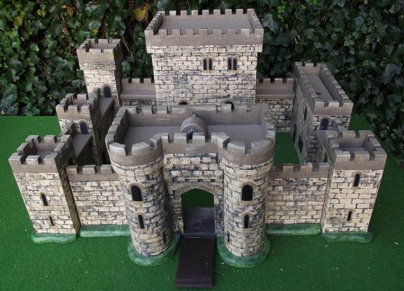 My love of history was inspired by a toy castle a bit like this one.